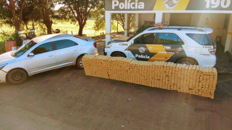 Polícia: apreensão de drogas em Castilho e outra em Mirandópolis