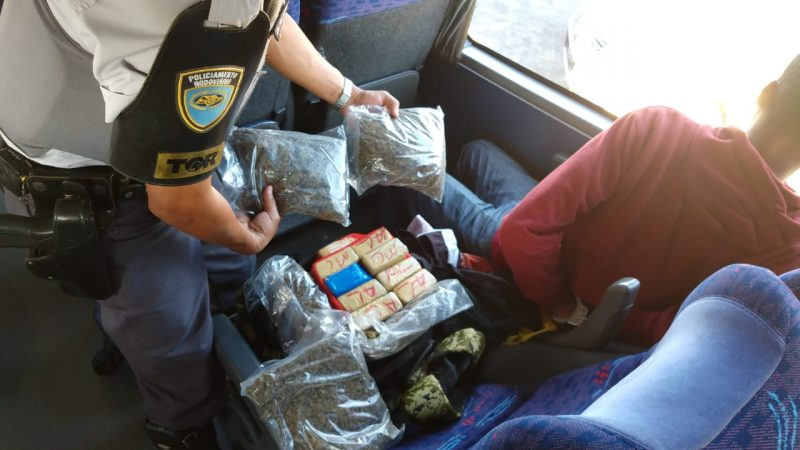 TOR apreende droga em bagagem de passageiro de ônibus em Araçatuba