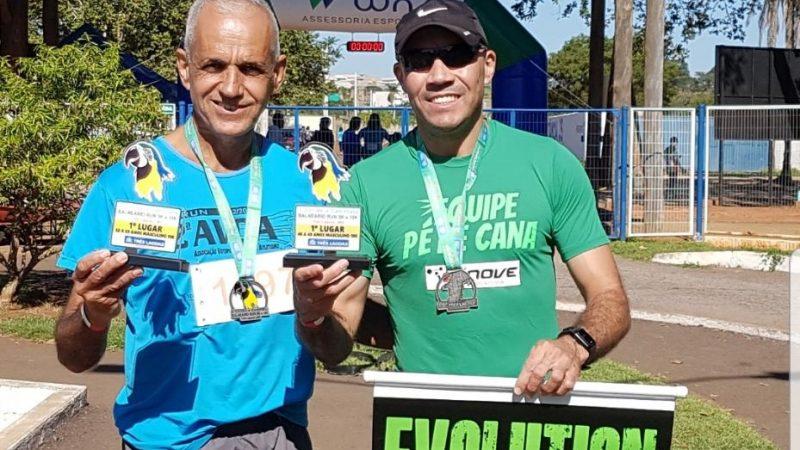 Corrida de rua: dupla de Mirandópolis fica em primeiro lugar em Três Lagoas