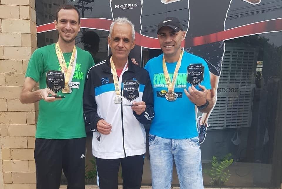 Atletas de Mirandópolis garantem pódio no Circuito Matrix em Birigui