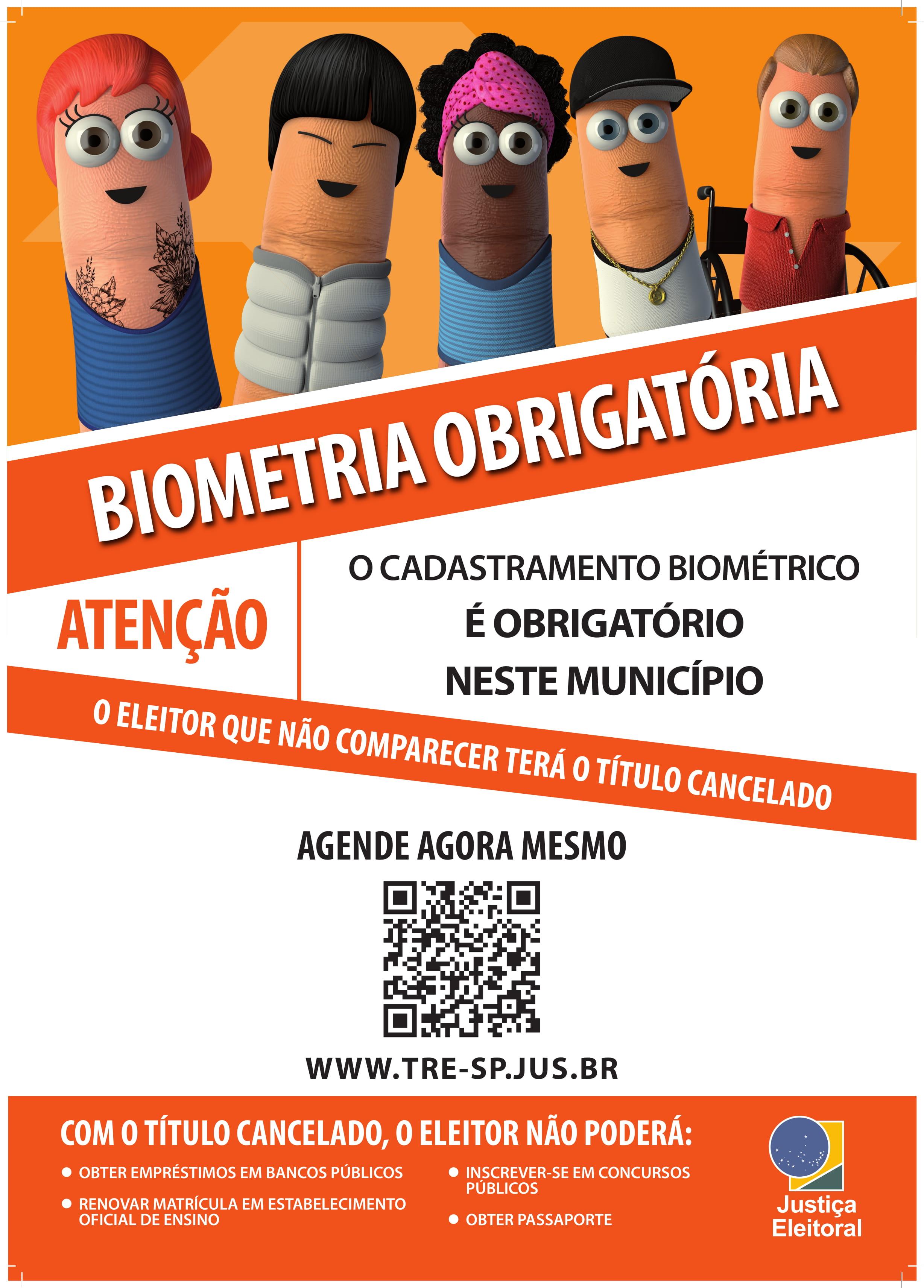 Prazo para cadastramento biométrico em Mirandópolis e Guaraçaí termina em dezembro