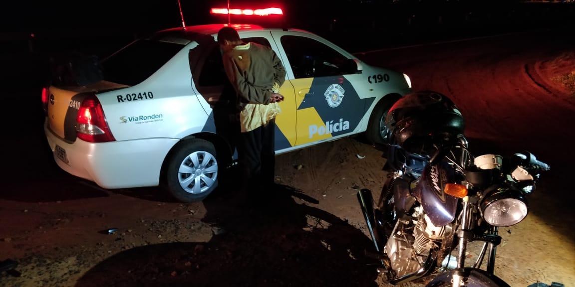 Jovem tenta fugir da polícia na Rondon, mas acaba preso