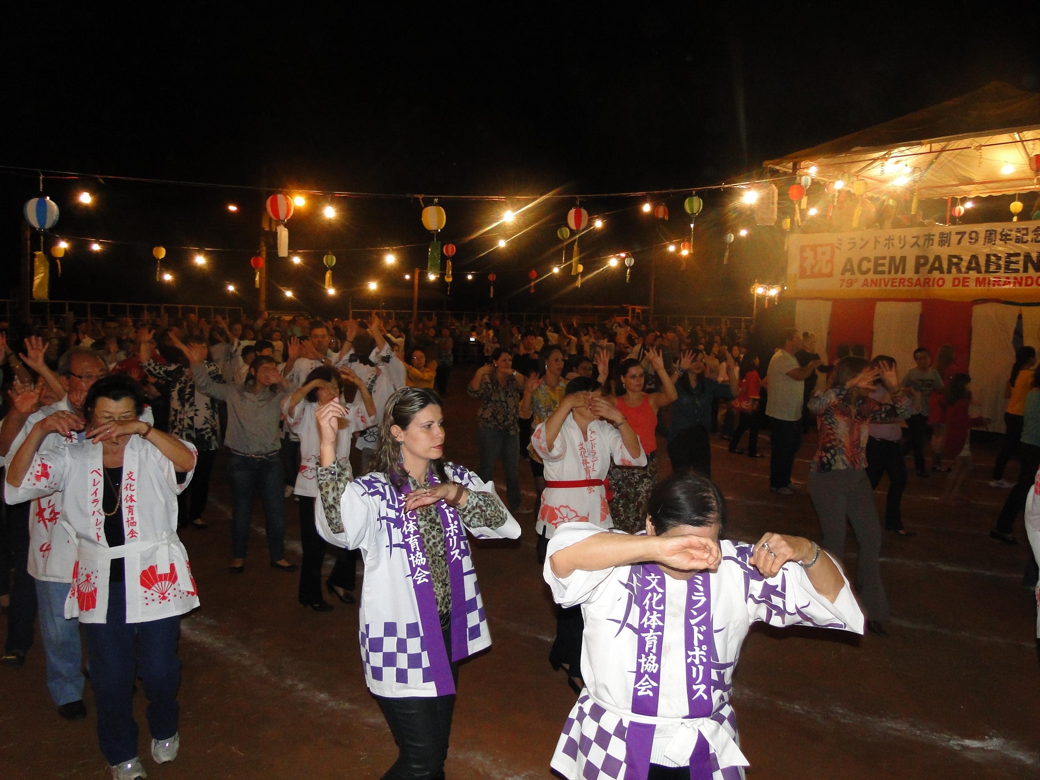 Tradicional Bon Odori ocorre  no sábado (15), no Recinto
