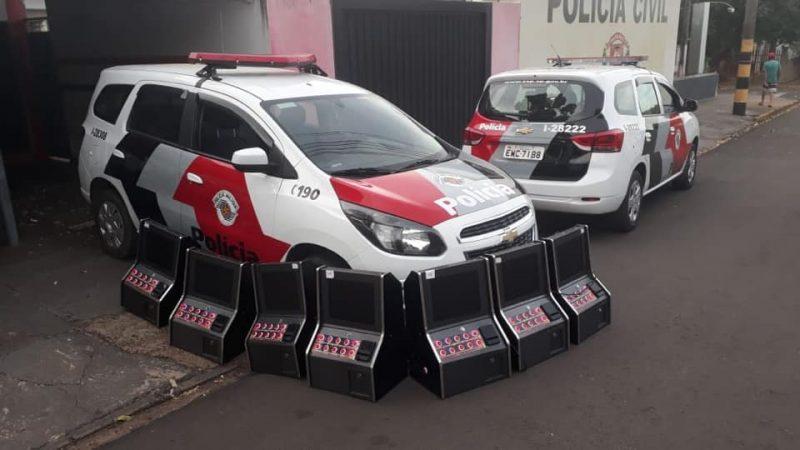 """Polícia Militar apreende máquinas """"caça níqueis"""" em Mirandópolis"""
