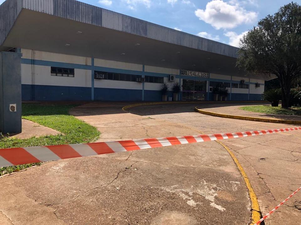 Ginásio de esportes oferece segurança aos munícipes e funcionários, diz Carlos Weverton