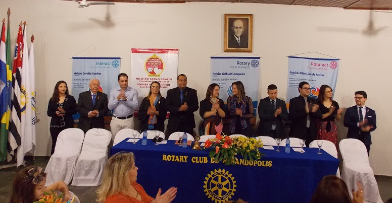 Nova diretoria do Rotary Club toma posse