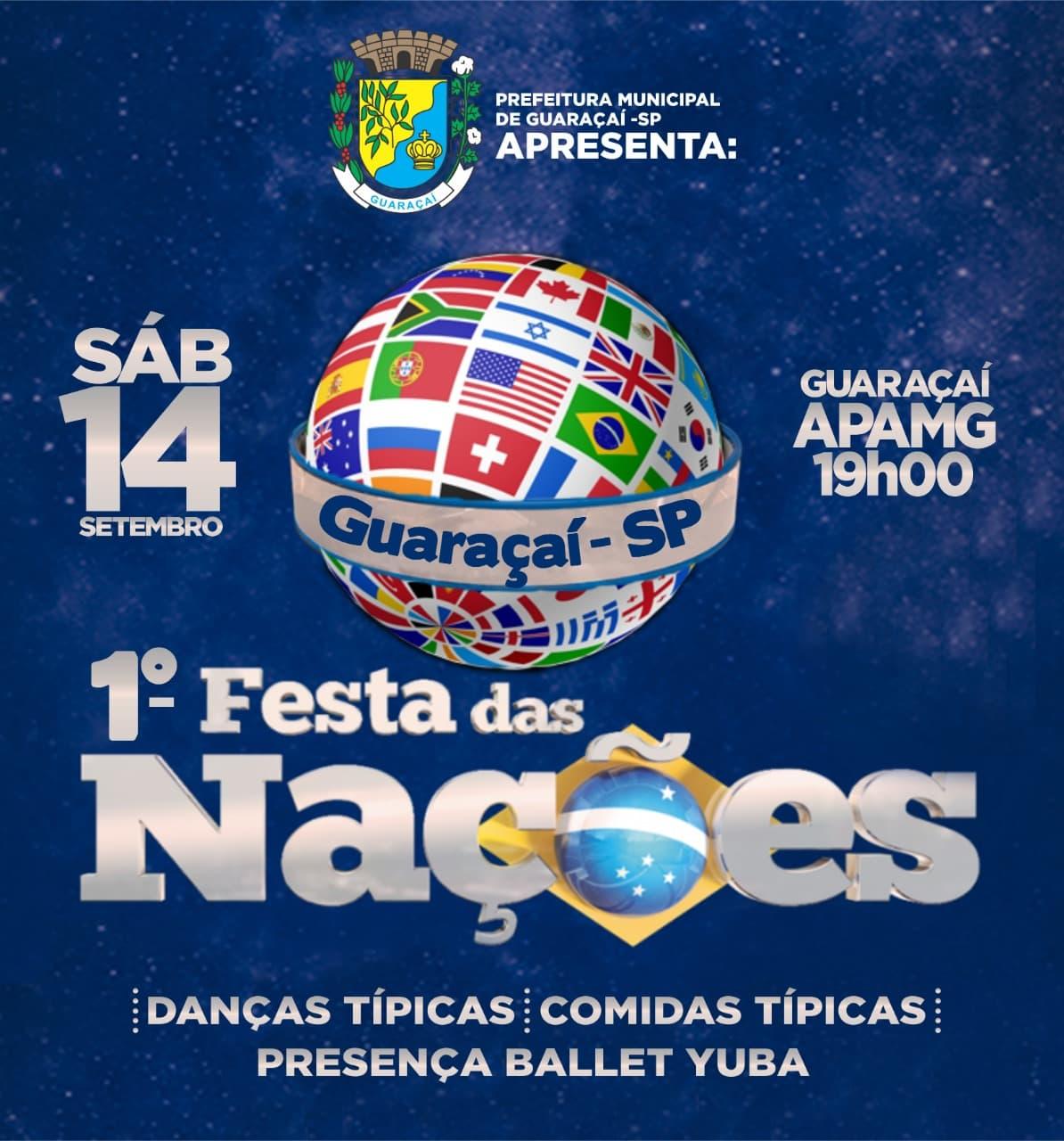 Guaraçaí inicia preparativos para 1ª Festa das Nações