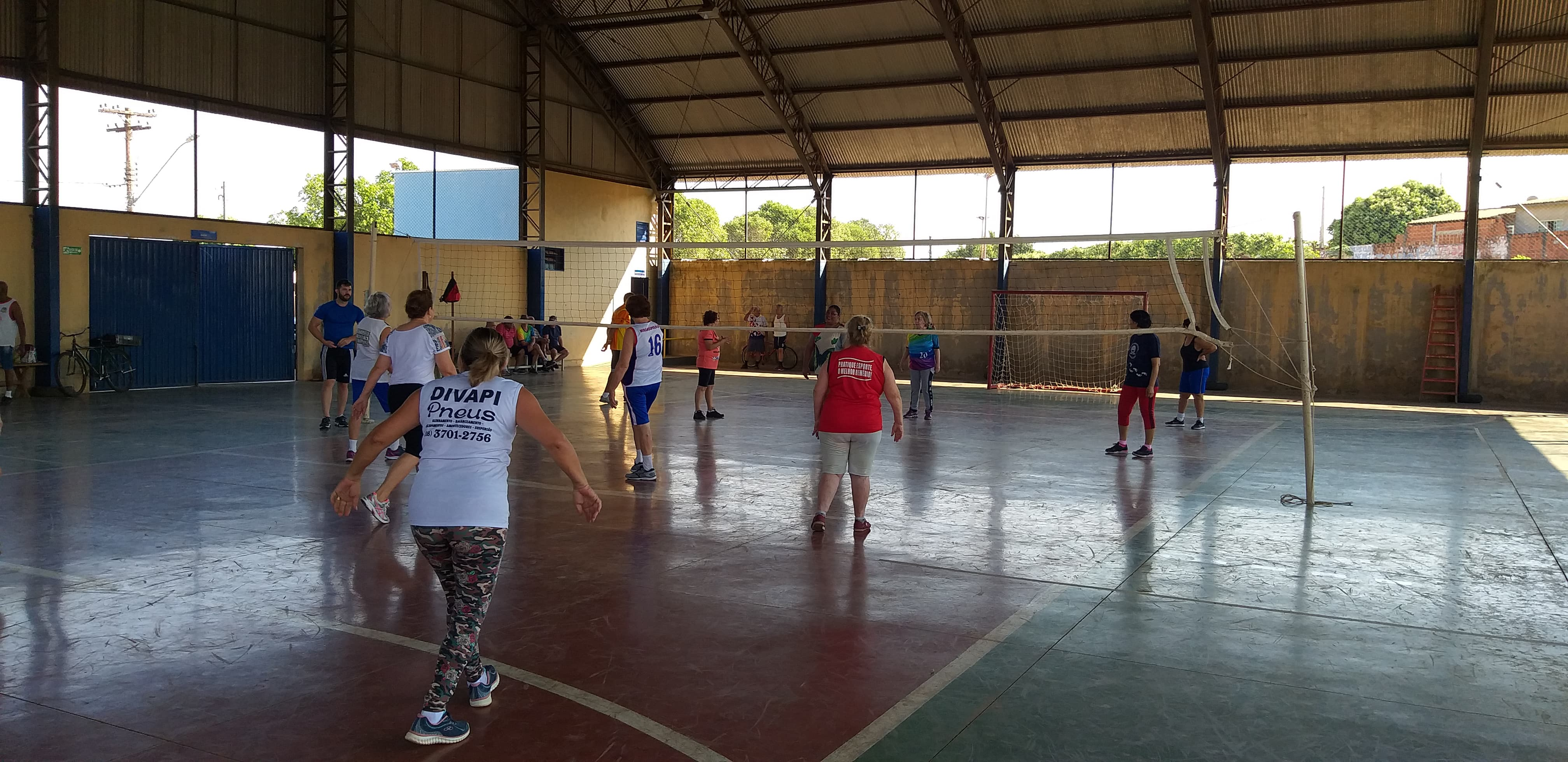 Voleibol adaptado e o benefício para a qualidade de vida dos idosos