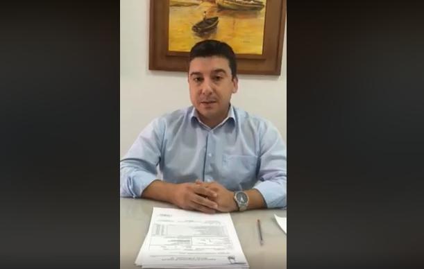 Em resposta ao vereador Tiago, prefeito interino explica gastos com paisagismos