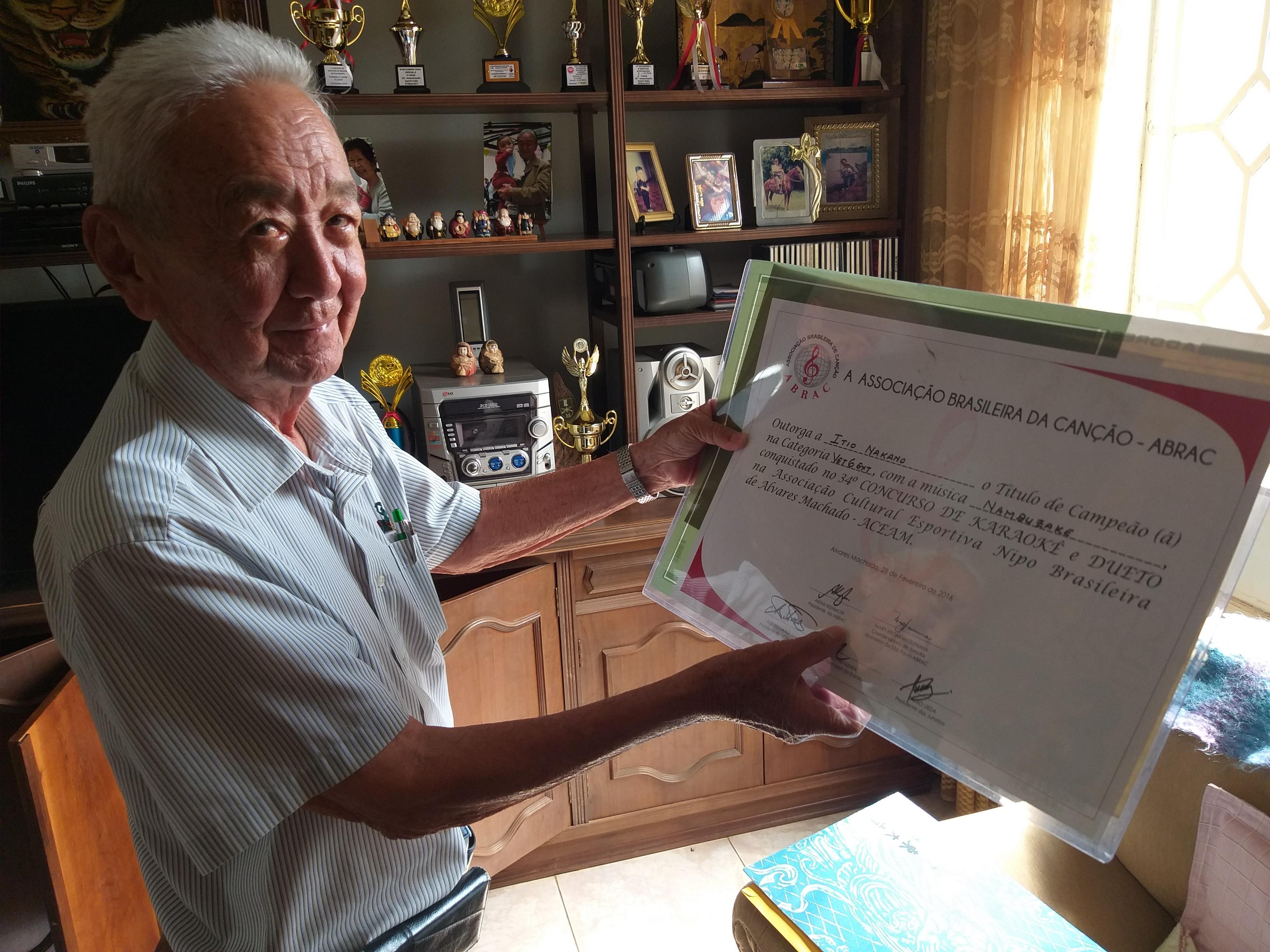 Entre o campo e a cidade, Itio Nakano marca sua história em Mirandópolis
