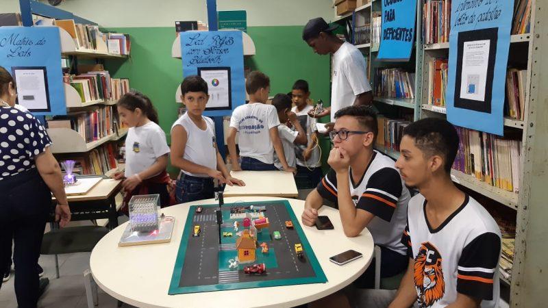 Escola Dr. Edgar recebe viagem tecnológica