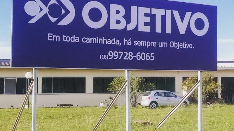 Colégio Objetivo inicia aulas em Mirandópolis em 2020