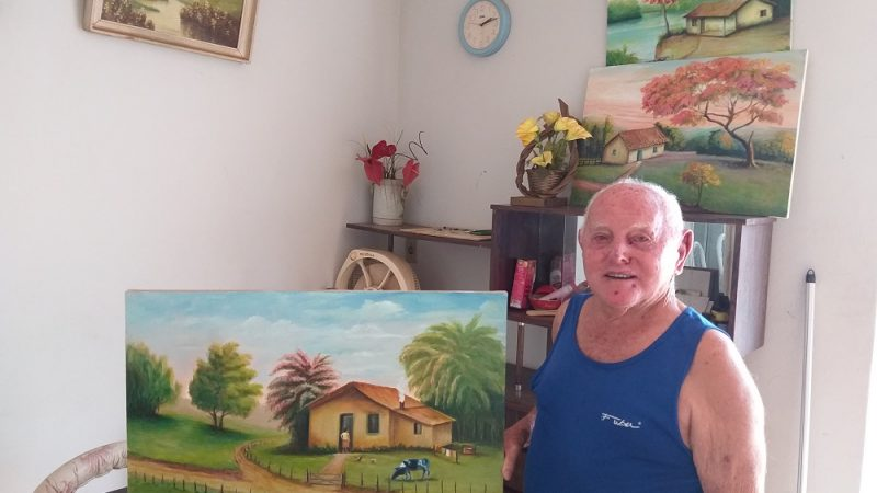 Construção e pintura, as paixões de Gennaro Ordine