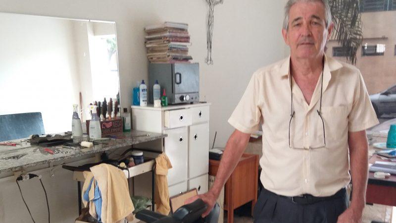Neca, barba e cabelo na história de Mirandópolis