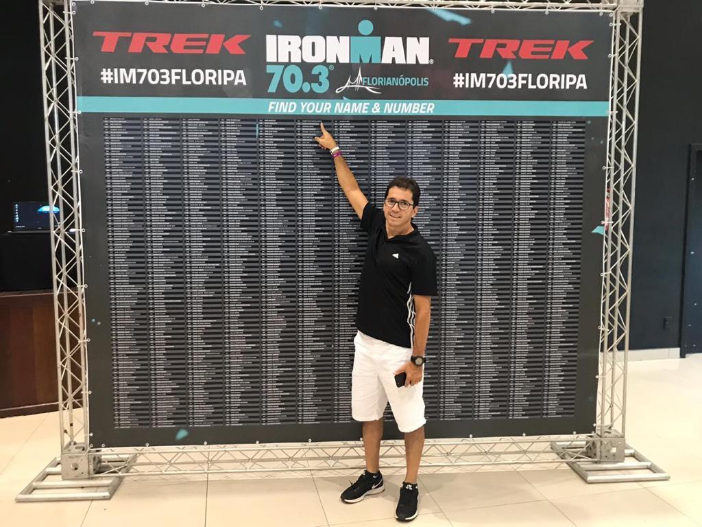 Superação: Betinho Marcos desafia limites no triatlon