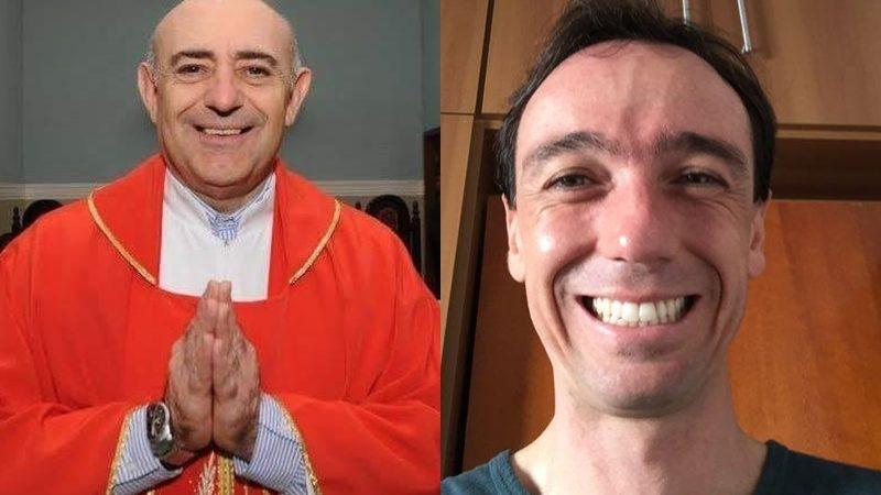 Padre Orlando e seminarista Wilson estreiam coluna no jornal
