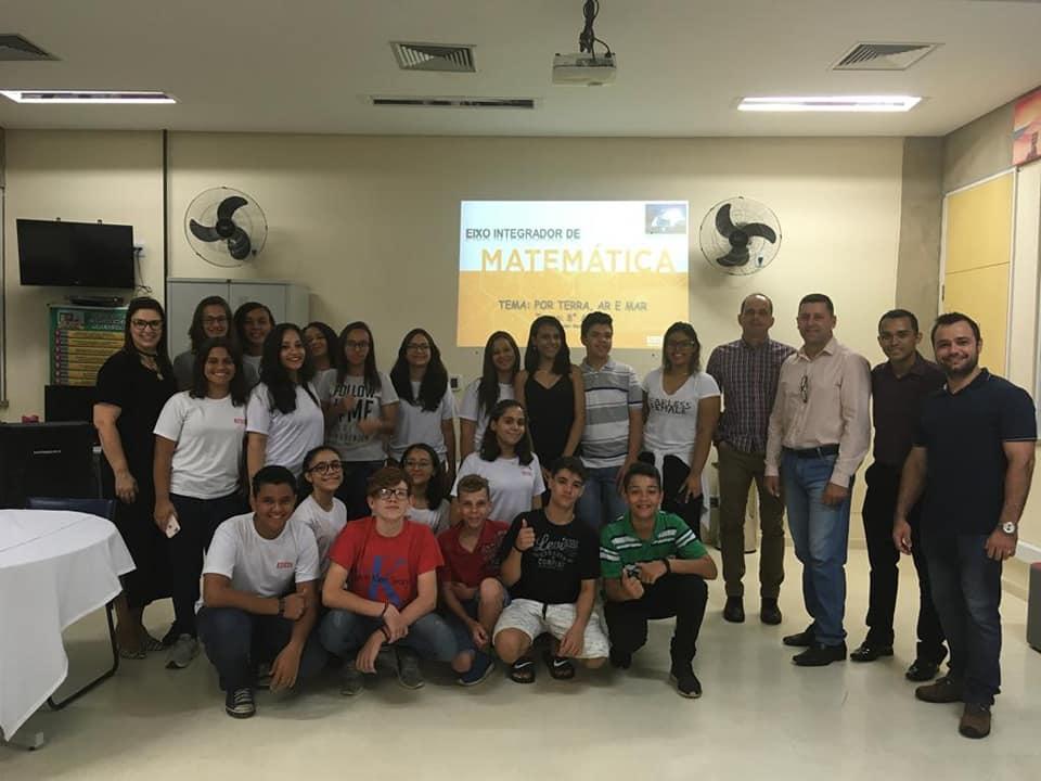 Estudantes do SESI apresentam projeto de ciclofaixa que deve ser adotado pela prefeitura