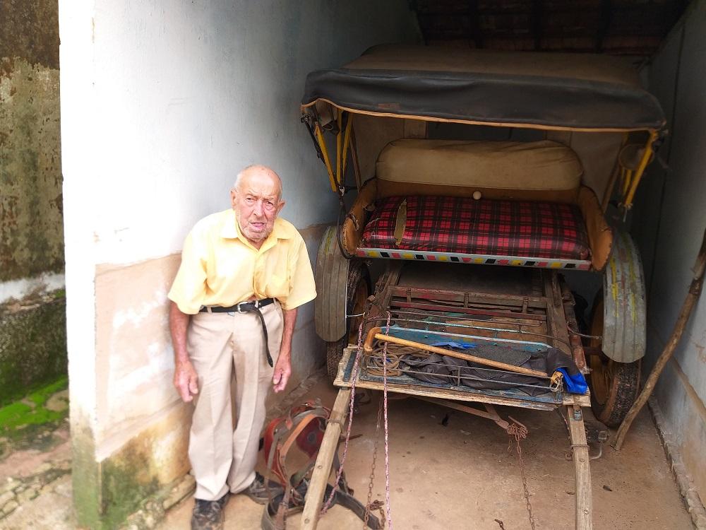 Morre aos 93 anos Jaime Perogil, o último charreteiro de Mirandópolis