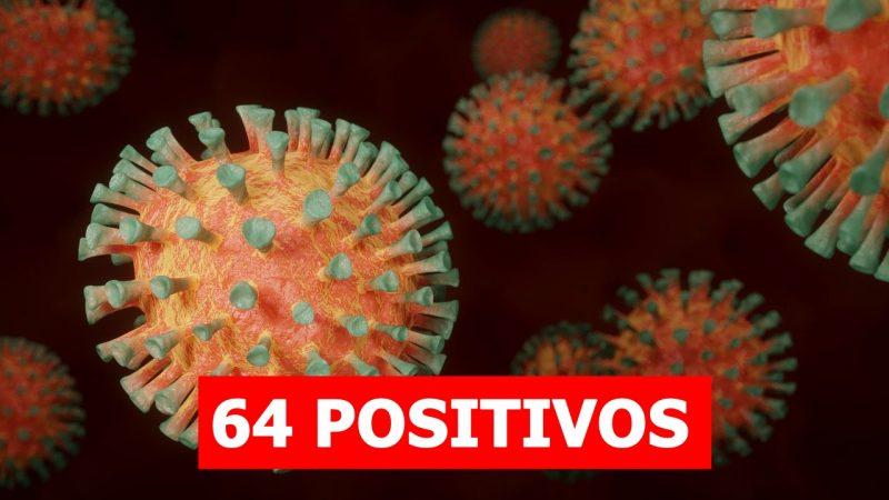 Com mais dois novos casos nas últimas 24 horas, chega a 64 positivos de Covid-19 em Mirandópolis
