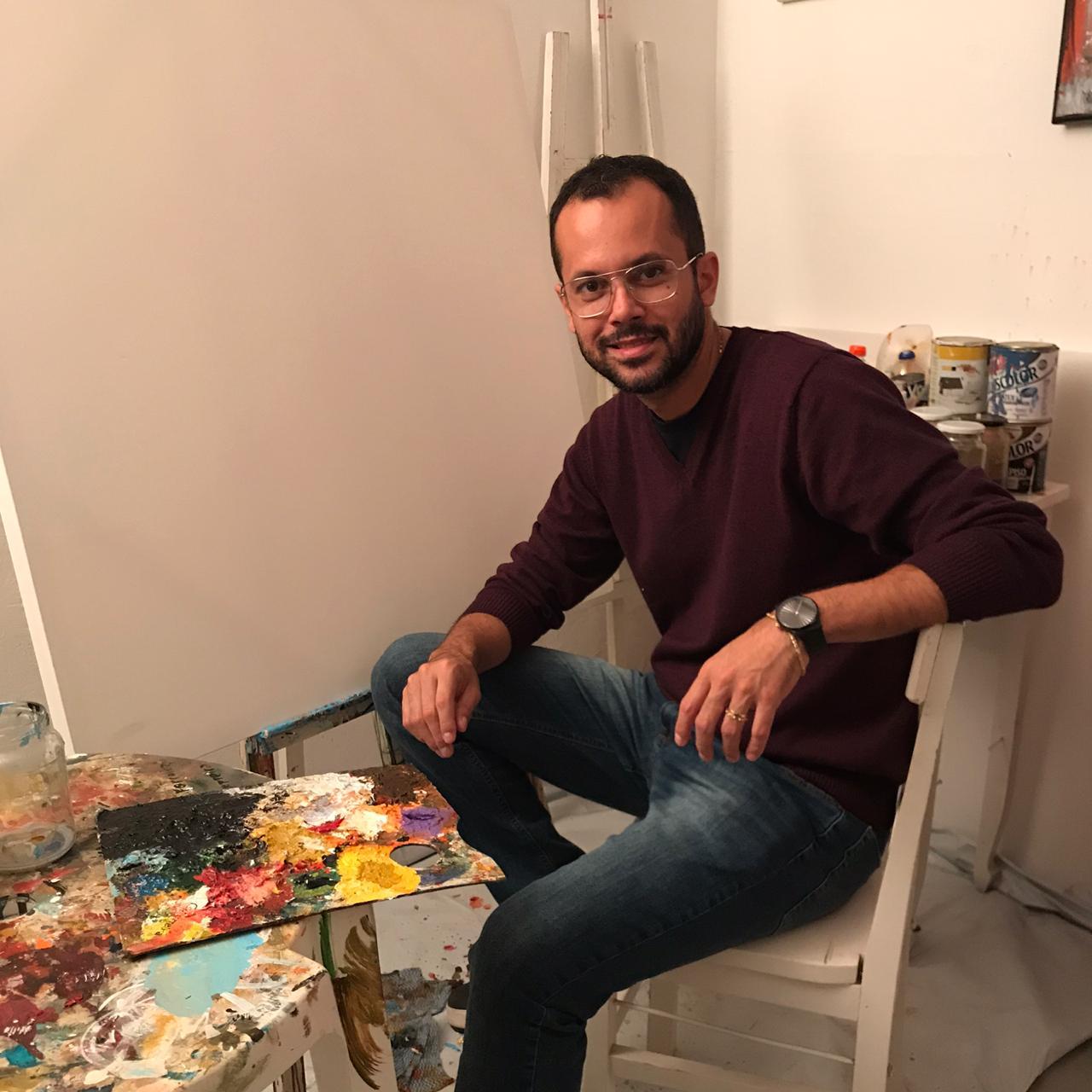 Artista mirandopolense provoca reflexões do cotidiano acerca da arte