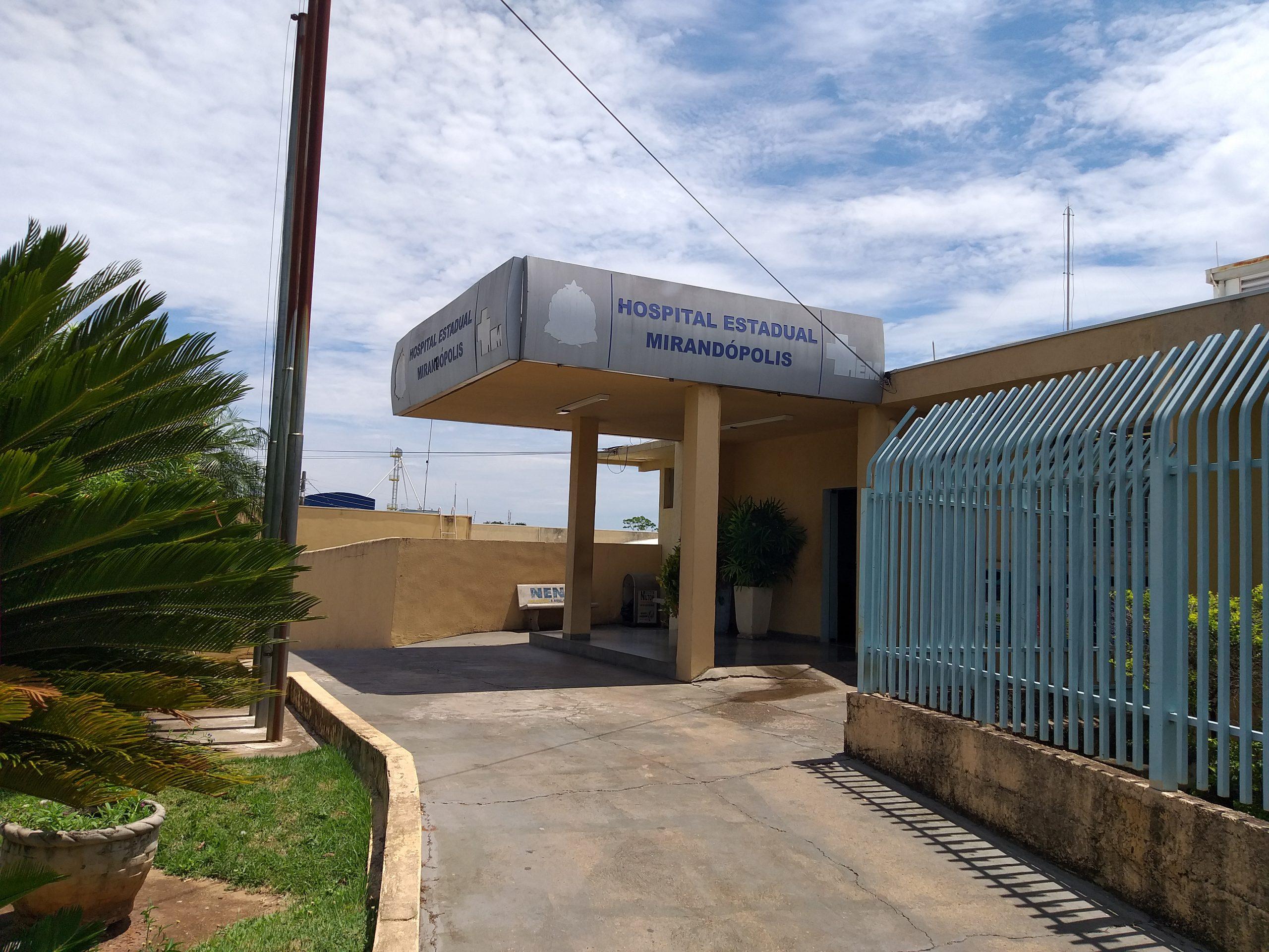 Mirandópolis registra 35ª morte por Covid-19; Hospital Estadual atinge 185% de ocupação e para de atender por 8 horas