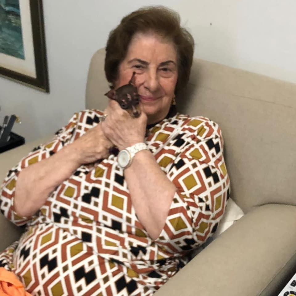 Morre Therezinha Maluly, mãe do ex-prefeito Jorginho Maluly