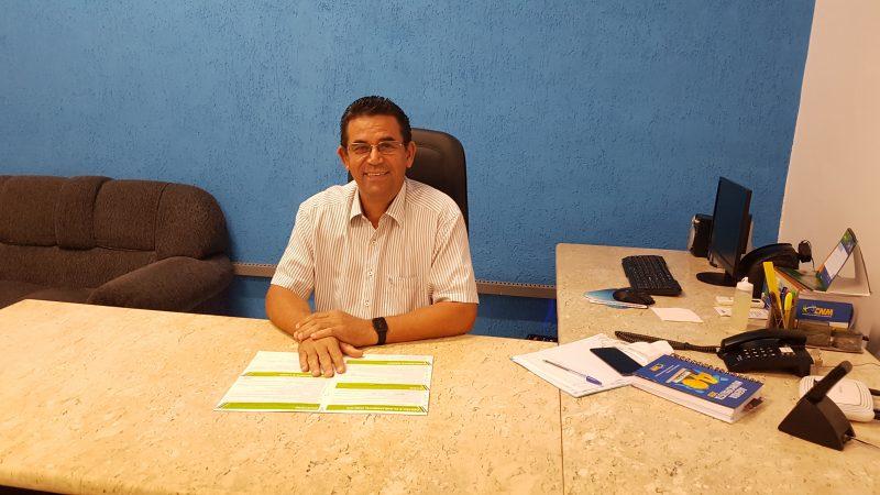 'Meu sentimento é de dever cumprido, conquistamos isso trabalhando de forma séria, equilibrada e respeitosa', conta Clóvis Izídio, prefeito de Lavínia