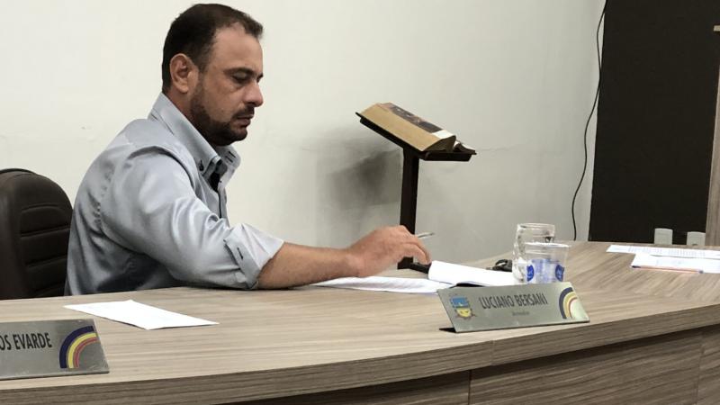 Luciano Bersani recusa convite para participar de especial sobre vereadores