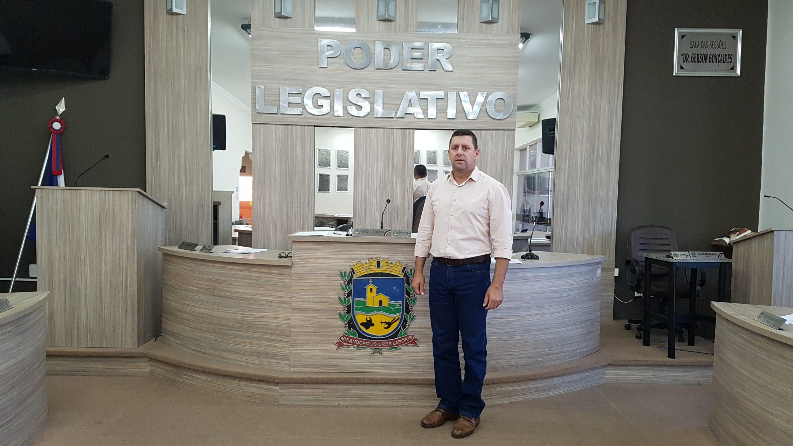 Almir Marini confirma que não pensa em reeleição e destaca projetos, emendas e indicações realizadas como principais entregas para Mirandópolis