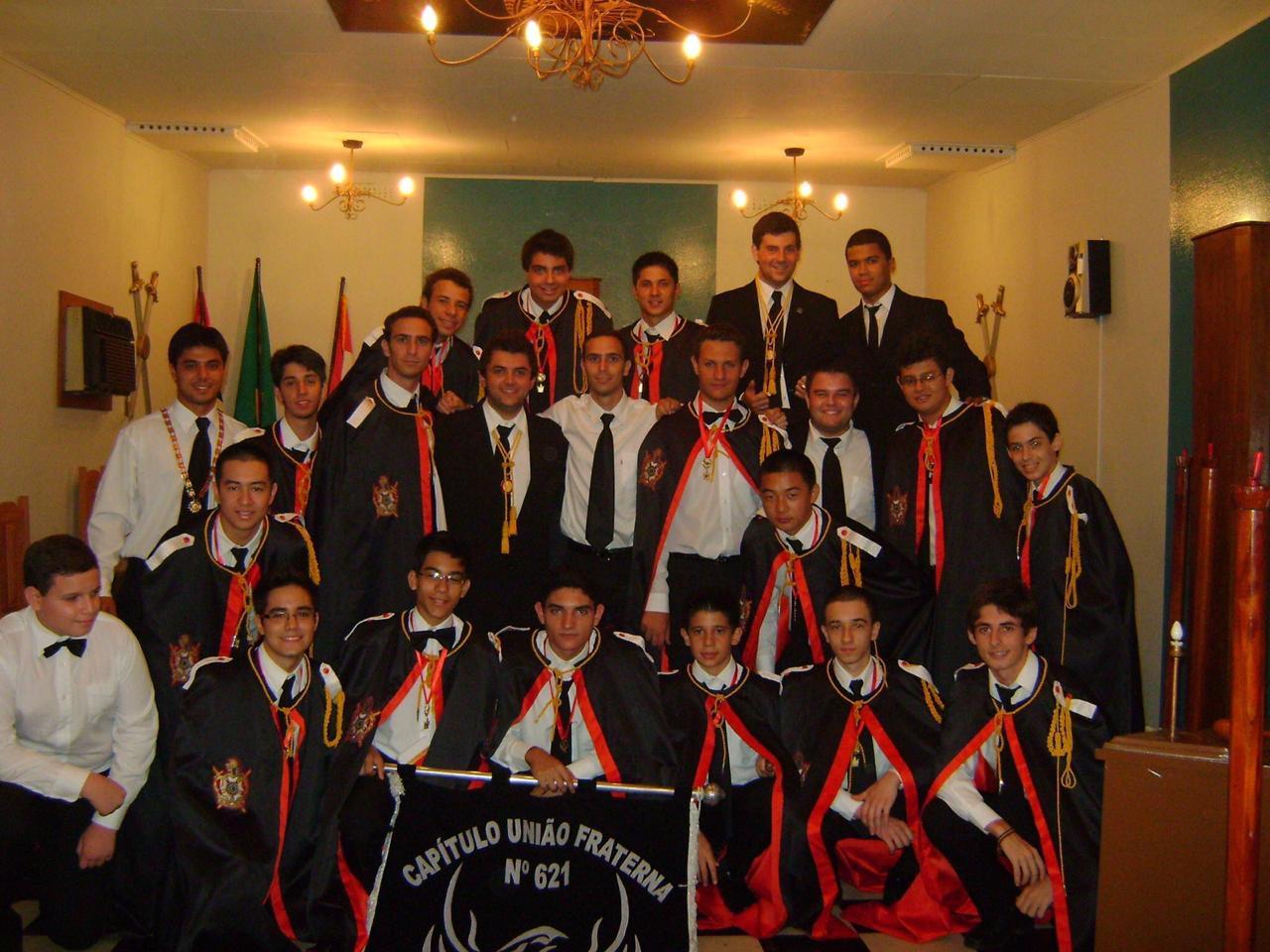 Ordem Demolay comemora 15 anos em Mirandópolis