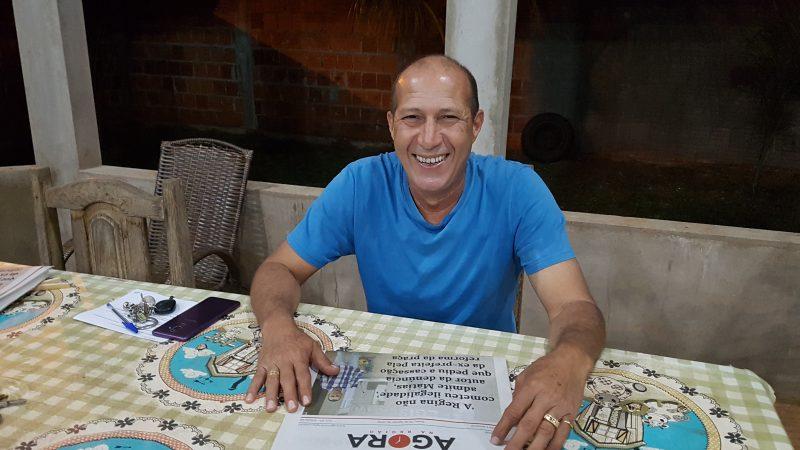 """""""Sempre vi na política um meio de ajudar as pessoas, por isso vou tentar a reeleição"""", comenta Nivaldo Ribeiro"""