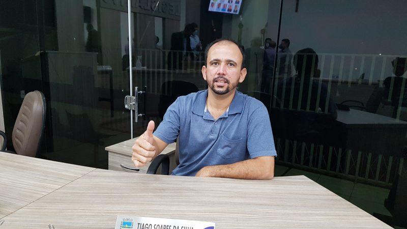 Tiago diz que prioridade em seu mandato foi fiscalizar a prefeitura e avalia seu trabalho como 'bom'