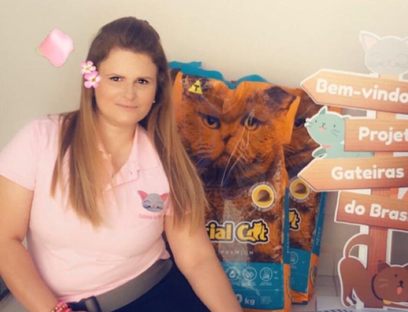 'O projeto é fundamental para adoção dos gatos e também para saúde pública', diz Domynike Dias sobre o Gateiras do Brasil
