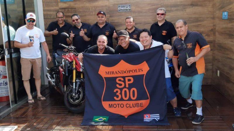 'Somos mais que um grupo de motociclistas, consideramos uma família o SP300', comenta João Mikio, presidente do moto clube