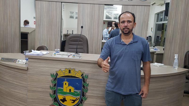 'Precisamos buscar alternativas para o Distrito Industrial', comenta o vereador Tiago Soares