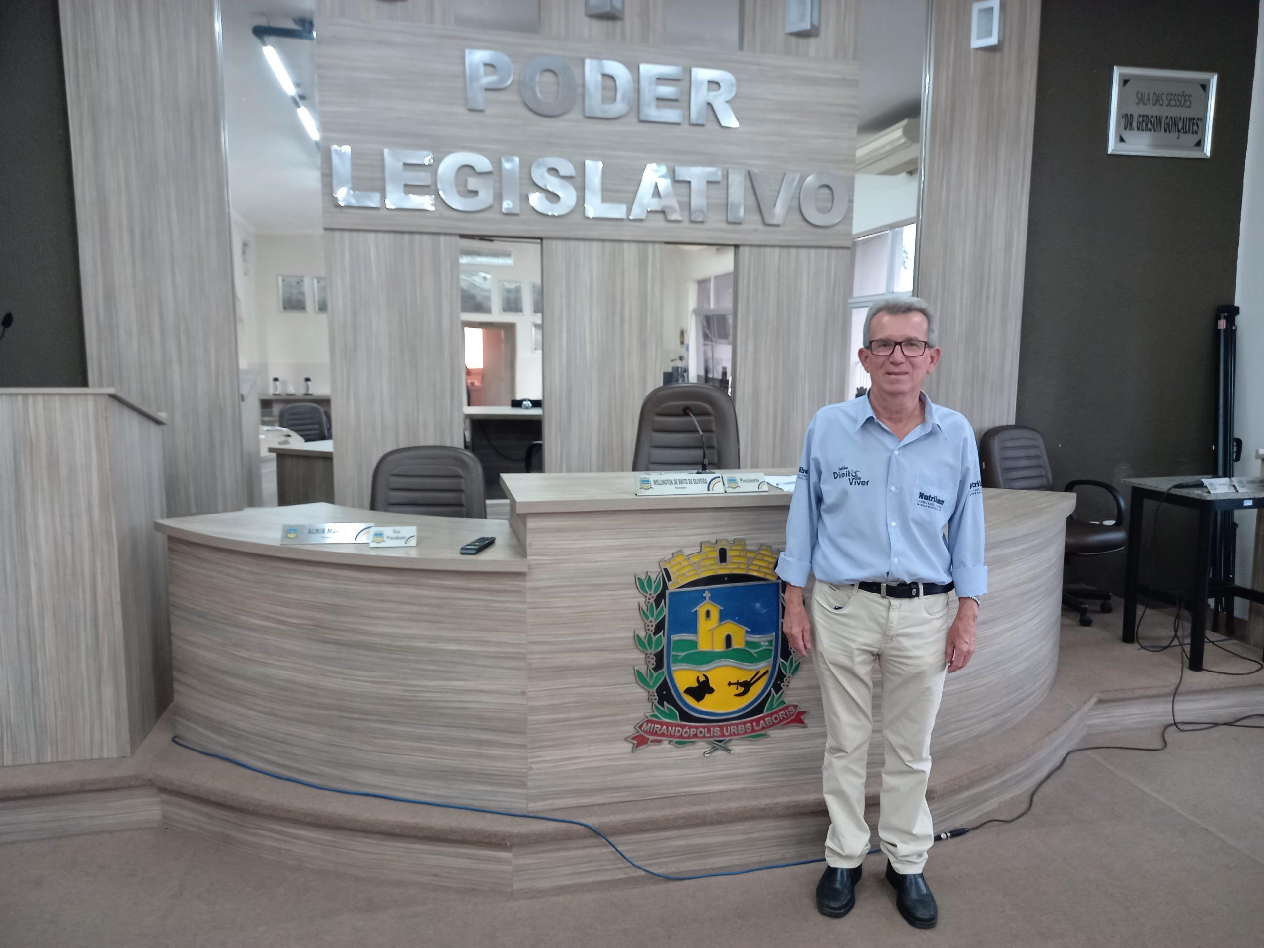 'Ações sociais serão base do meu trabalho', confirma o vereador eleito Roberto Gonçalves