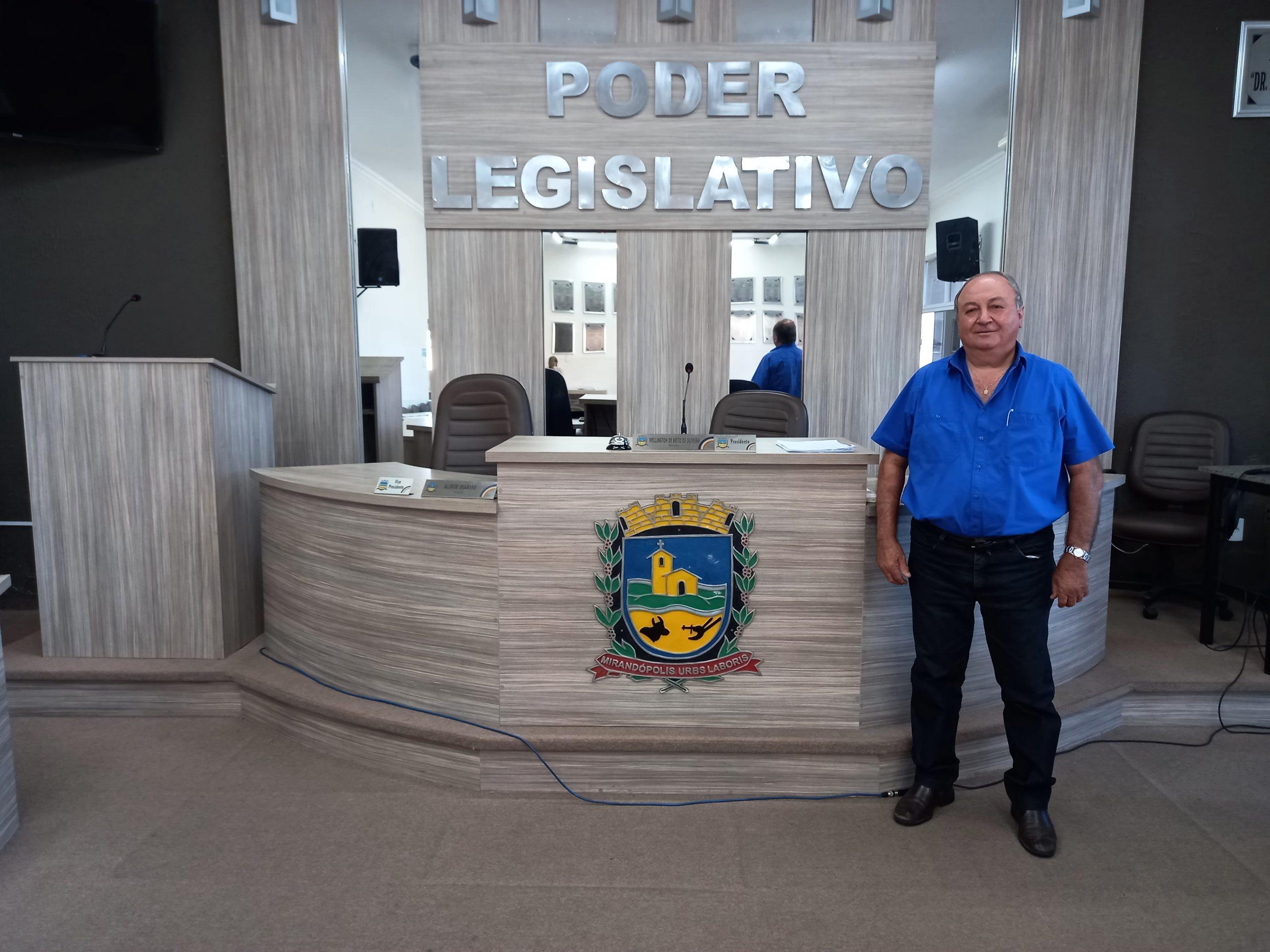 'Na campanha fiquei estarrecido com a Segunda Aliança por causa do esgoto a céu aberto', ressalta o vereador eleito Chutudo