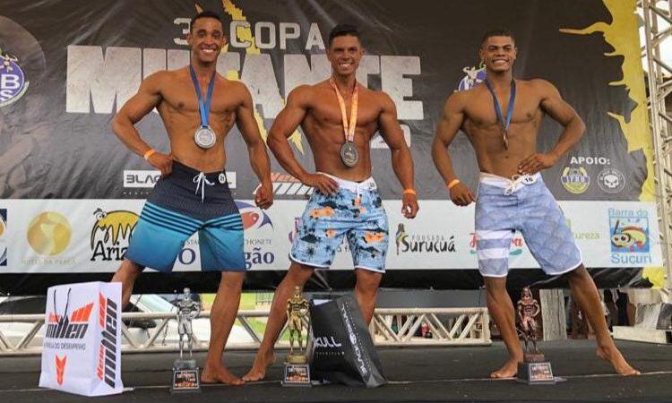 Mirandopolense é destaque em campeonato de fisiculturismo