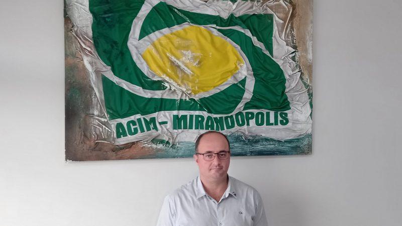 'Precisamos buscar alternativas para ajudar o comércio local', explica Ricardo Gonçales, novo presidente da Acim