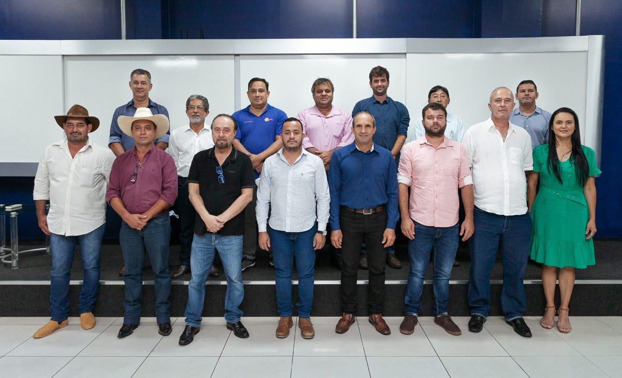 Mário Celso convoca prefeitos da Amensp a participarem da nova onda de desenvolvimento regional