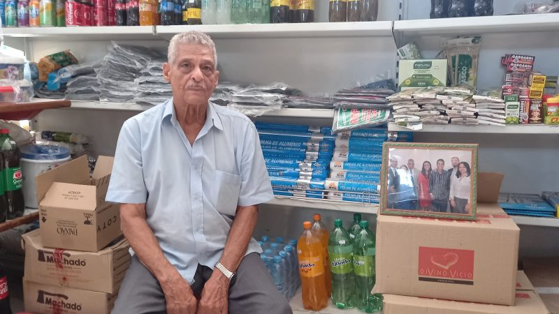 'Com 11 anos saí da Bahia para trabalhar no interior de São Paulo para ajudar minha família porque meu pai faleceu, recorda João Alves de Souza