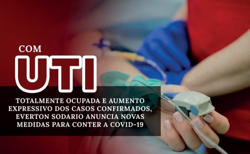 Covid-19: falta de leito na UTI e aumento expressivo dos casos positivos preocupa população em Mirandópolis