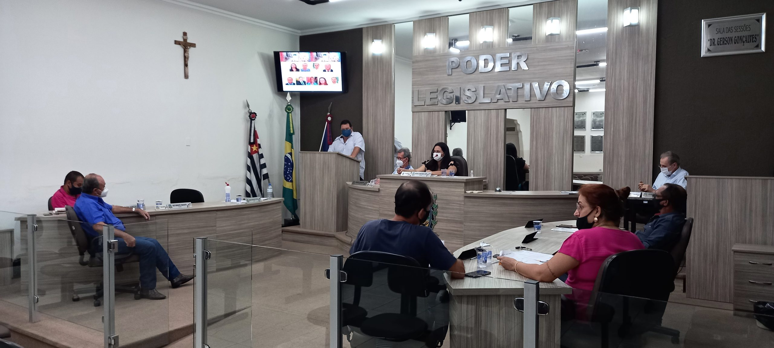 Grampola e Roberto solicitam implantação da Brigada de Incêndio em Mirandópolis