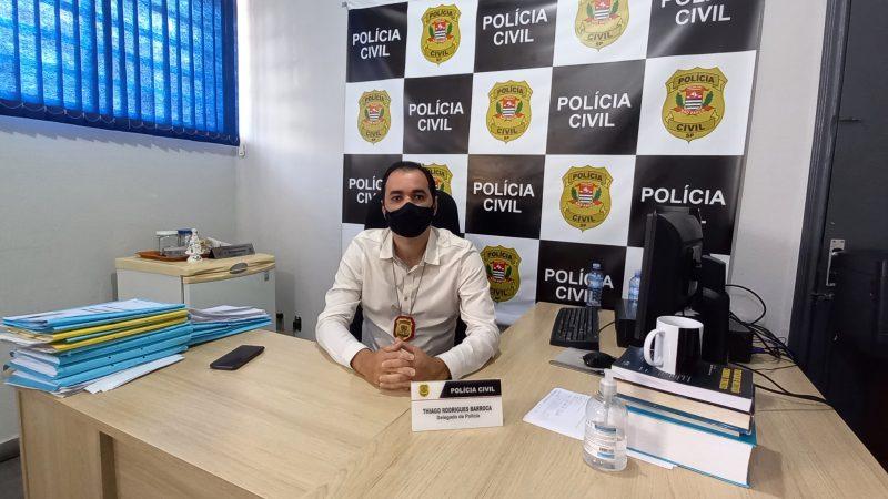 'Uma carreira apaixonante porque alia conhecimento jurídico com a parte policial', conta Thiago Barroca, delegado em Mirandópolis