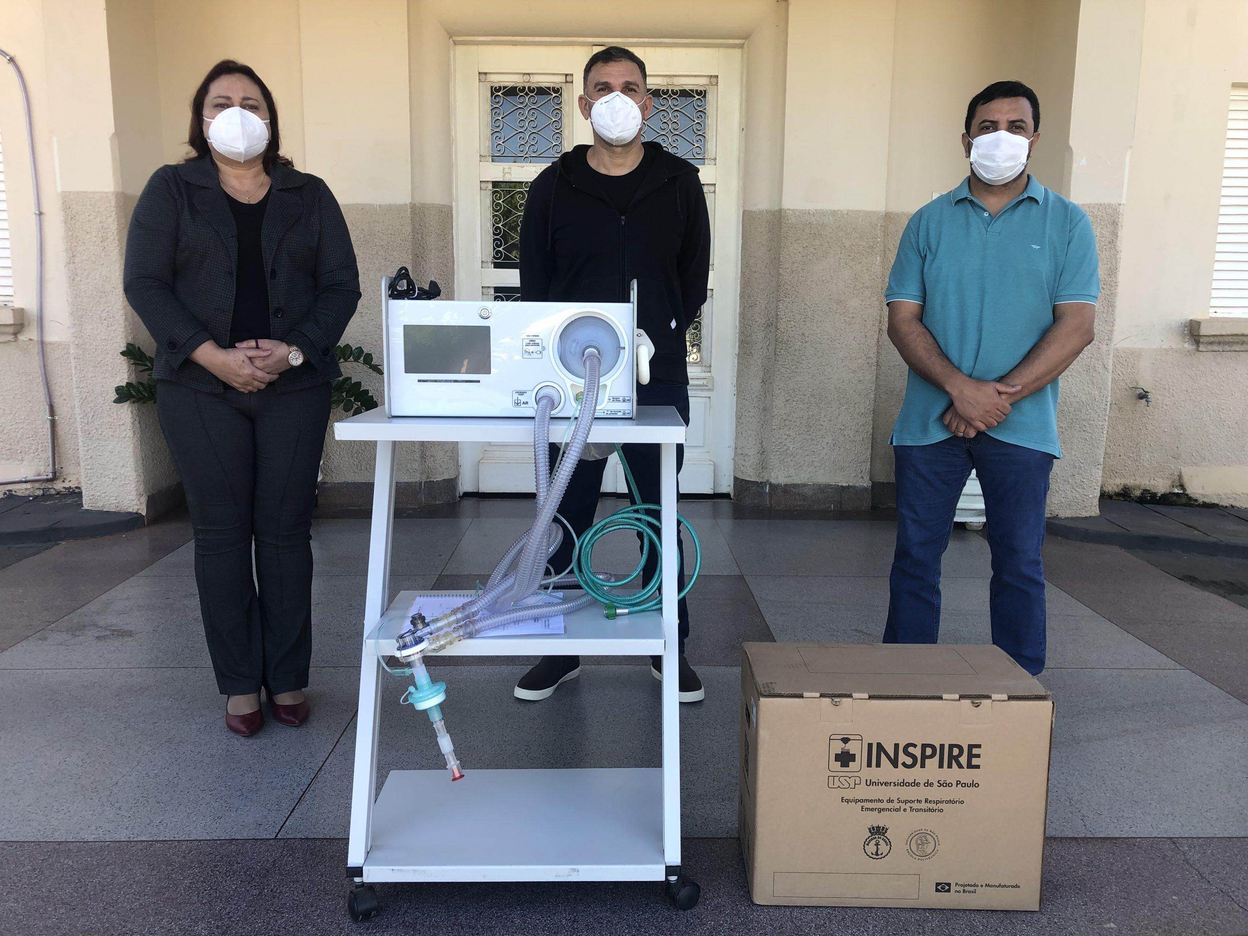 Hospitais de Guararapes, Valparaíso e Guaracaí recebem ventiladores pulmonares após pedido do Ciensp