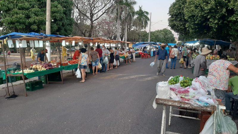 Feiras livres de Mirandópolis ganham espaço entre os moradores