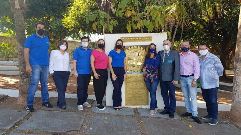 Mirandópolis recebe visita do governador do Rotary Club