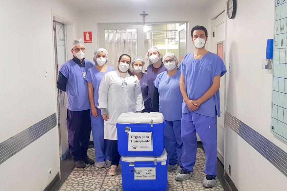 Santa Casa de Birigui faz segunda captação de órgãos do ano