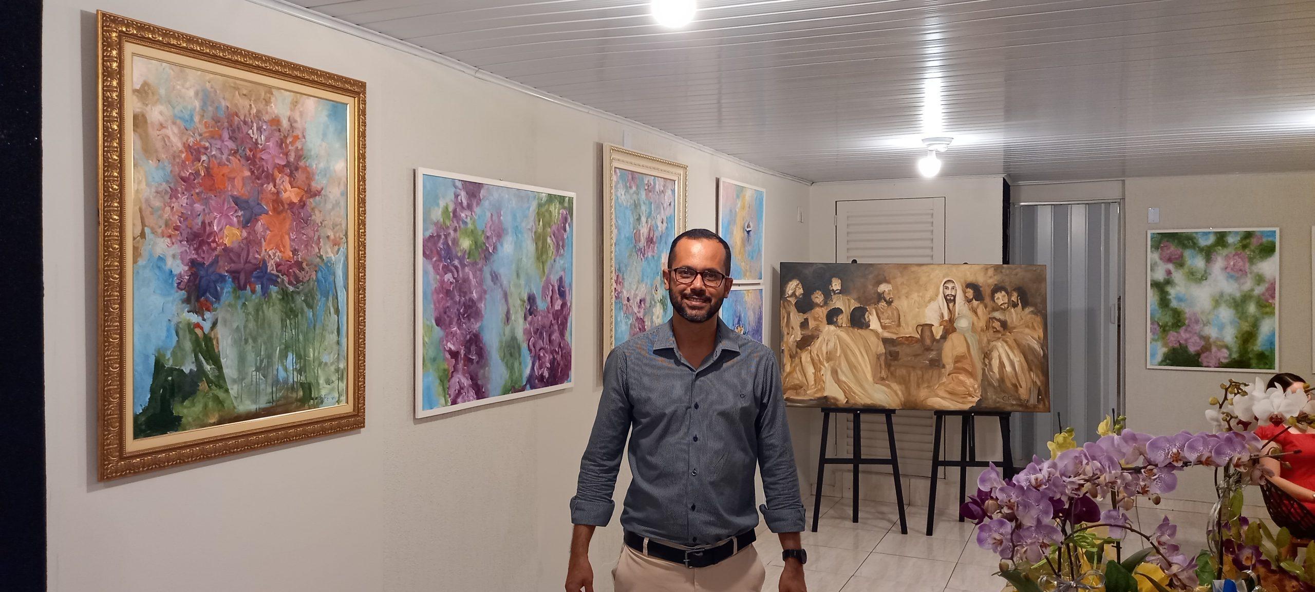 Cleber Ferreira inaugura atelier e galeria, uma das novidades é a arteterapia