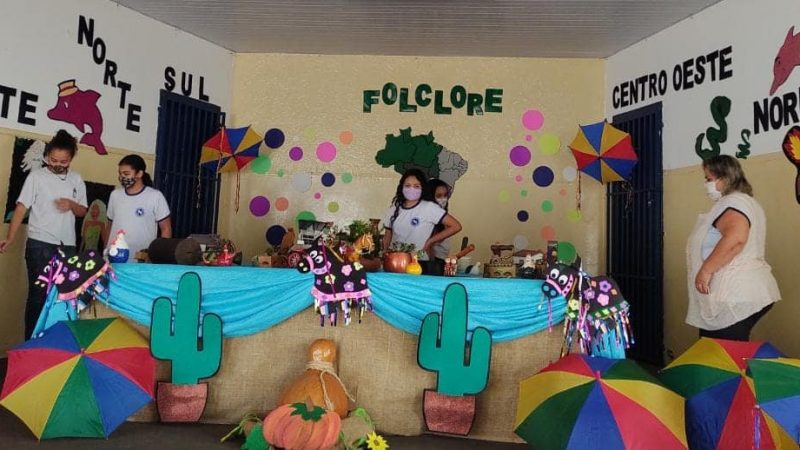 Em parceria com grêmio estudantil, escola Noêmia Dias Perotti desenvolve série de projetos e atividades pedagógicas